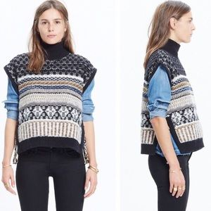 Madewell inside out knit vest
